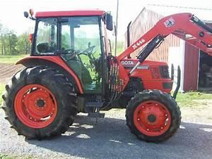 2000 Kubota Wsm M4900 M5700 Tractor Service Repair