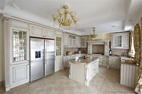 traditional antique white kitchen cabinets antique