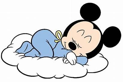 Mickey Mouse Cloud Clipart Disney Sleep Babies
