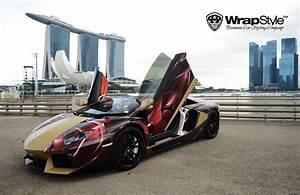 Voiture Iron Man : 6 voitures de sport aux couleurs des super h ros marvel et dc ~ Medecine-chirurgie-esthetiques.com Avis de Voitures