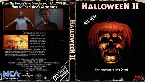 halloween  movies box art cover  trekkie