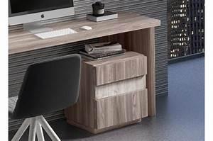Meuble Bureau Design : bureau design en bois poirier et fr ne ~ Melissatoandfro.com Idées de Décoration