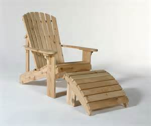 adirondack chair plans adirondack chair with slide out footrest plans 187 woodworktips