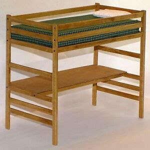 children   twin loft bed  desk woodworking plans