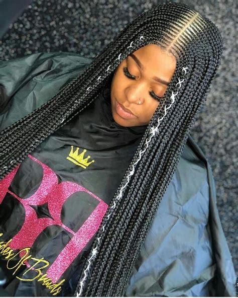 ghanaian hairstyles  instagram layered feeding braids