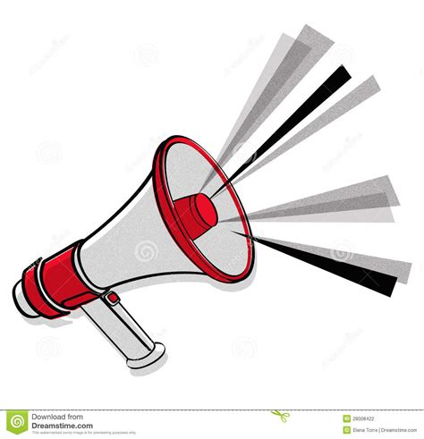 Megaphone Loudhailer Speaker 183 Free Vector Graphic On Pixabay Megaphone Vector Stock Photography Image 28008422