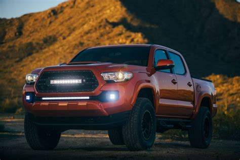 rigid industries led grille toyota 2016 tacoma 20 quot e e2 radiance series