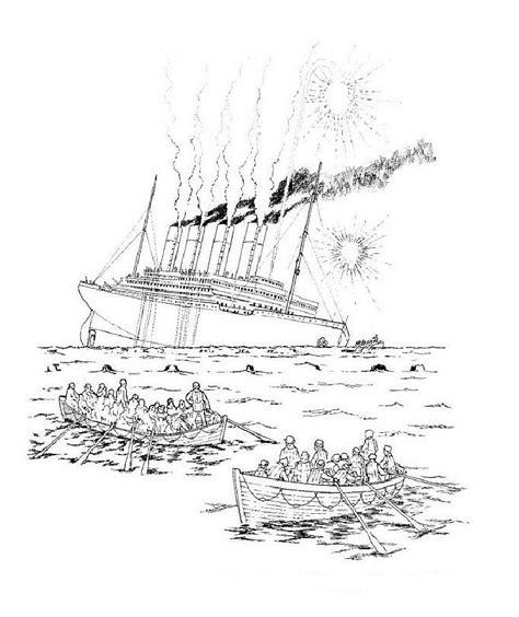 Dessin à Imprimer Bateau Titanic by Titanic Coloriages 224 Imprimer Colorier Coloriages1001 Fr