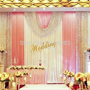 Aliexpresscom buy 3m high x6m long luxury white and for Backdrop decoration for wedding