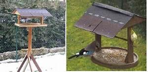 Mangeoire Oiseaux Sur Pied : les mangeoires et les nichoirs de mon jardin ~ Teatrodelosmanantiales.com Idées de Décoration