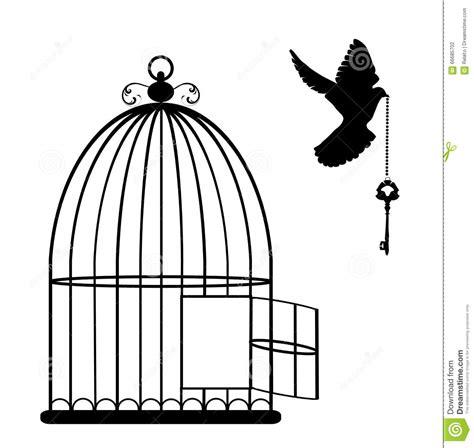 bird cage vector stock vector image 66685702