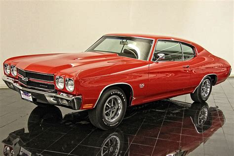 1970 Chevelle Ss454 Ls6  Muscle Car