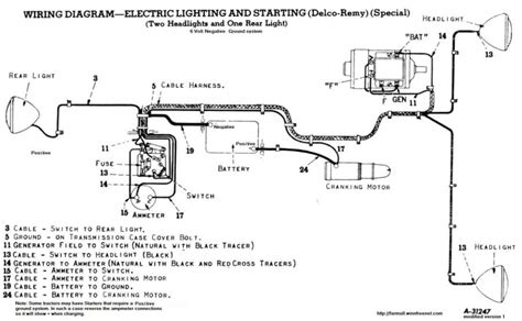 Farmall 450 Wiring Diagram by Farmall Wiring Ammeter Electrical Wiring Diagram Guide