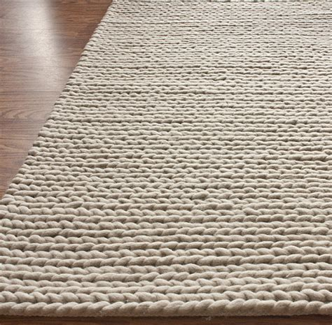 knit rugs   modern home