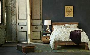 Schlafzimmer Vintage Style : palettes en bois 35 cool id es pour en faire des meubles ~ Michelbontemps.com Haus und Dekorationen