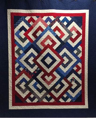 Quilts Quilt Patriotic Valor Katyquilts Flag Blocks