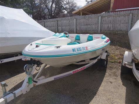 Sea Doo Boat Dealers Michigan by 1995 Used Sea Doo Sportster Jet Boat For Sale 3 895