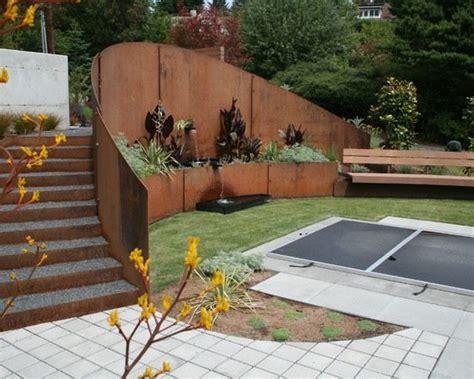 Garten Kostengünstig Gestalten by Sichtschutz Wand Holz St 252 Tzmauer Kosteng 252 Nstig Dekorativ
