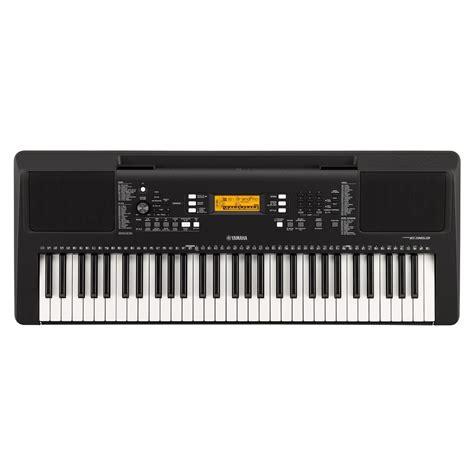 yamaha keyboard psr yamaha psr e363 portable keyboard at gear4music