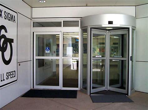 benefits  installing  revolving door interior