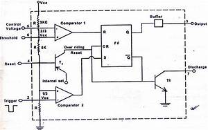 Magicelectronics  Block Diagram Of  U0026quot 555 Timer Ic U0026quot