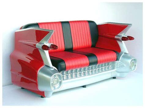 canapé voiture banquette cadillac américaine vintage décoration us 50 39 s