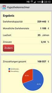 Annuitätendarlehen Laufzeit Berechnen : hypothekenrechner android apps on google play ~ Themetempest.com Abrechnung