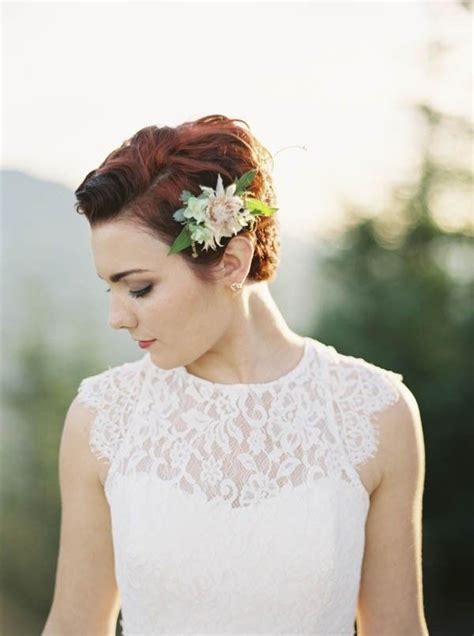 Wedding Hairstyles For Pixie Cuts by Pacific Northwest Wedding Inspiration At Rattlesnake Ledge