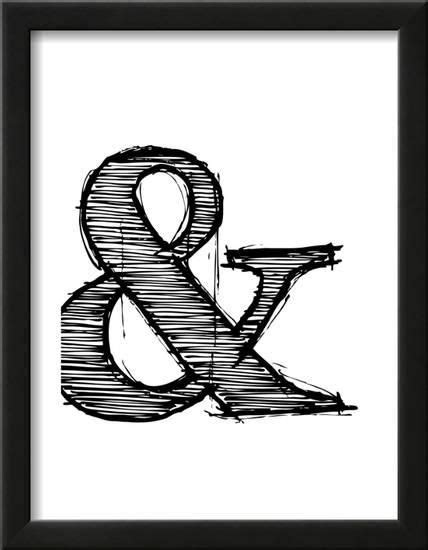 Pin by Anh Dang on ampersand in 2020 | Graphic art print