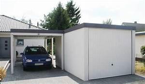 Garage Carport Kombination : pressenachricht garage und carport aus einem guss von ~ Orissabook.com Haus und Dekorationen