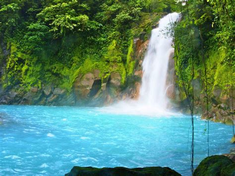 blue river rio chelsea river  waterfall  national