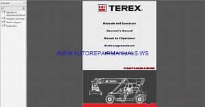 Fantuzzi Reggiane Terex Cs45ks 501808 Operators Manual