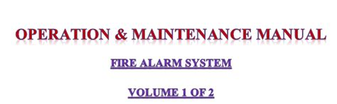 operations and maintenance manual template building operation maintenance manual template in word format method statement hq