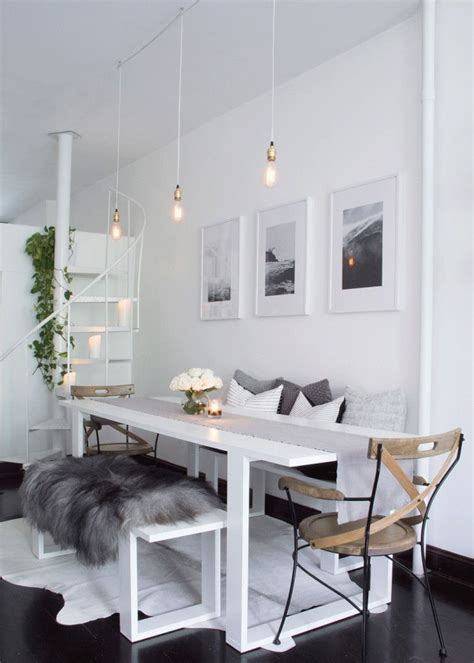 Apartment Living Dining Room Design by Best 25 Apartment Dining Rooms Ideas On