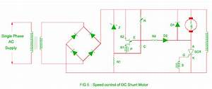 Speed Control Of Dc Motor By Solid State Devices