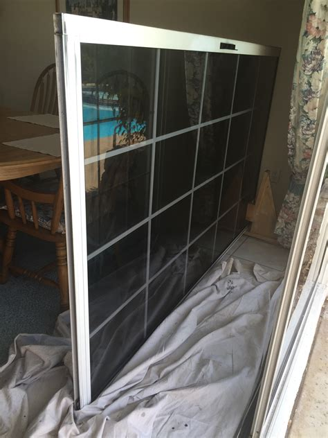 patio sliding door repair personal storage containers