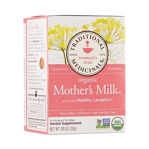 Mothers Milk Herbal Tea By Traditional Medicinals