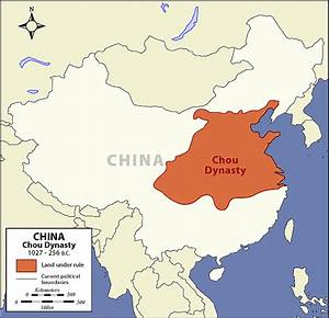 Chou Dynasty Map - The Art of Asia - History and Maps