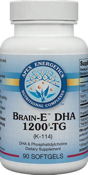 apex energetics brain  dha  tg    shipping