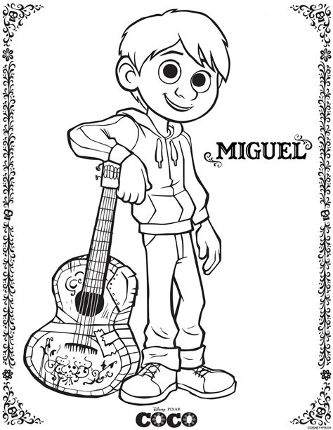 disney coloring pages pdf woven by words disney pixar s coco coloring pages