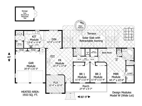 awesome green house floor plans  pictures house plans