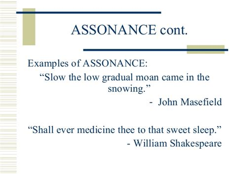 exle of assonance 28 images assonance definition what