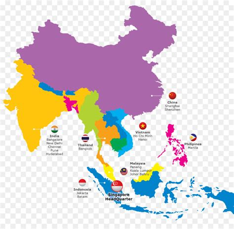 asia map vector  getdrawingscom   personal