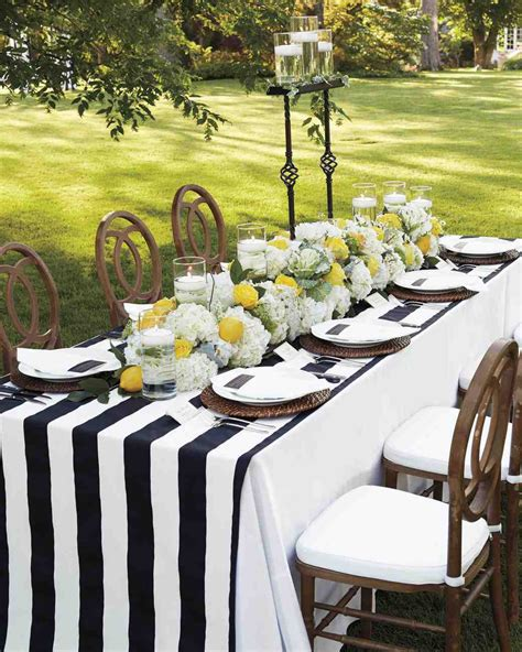 white linen l shade 26 wedding centerpieces bursting with fruits and