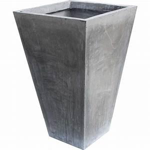 Blumentöpfe Aus Stein : fiberglas stein beton blumenk bel konisch blumentopf ~ Lizthompson.info Haus und Dekorationen