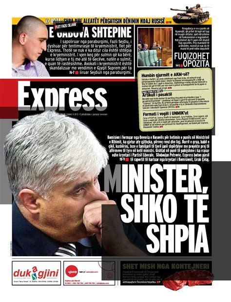 Gazeta Express 14 Gusht by Born Hero - issuu