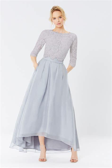iridessa high  skirt sardinia lace top bridesmaid
