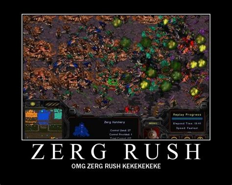 Zerg Rush Know Your Meme - image 37349 zerg rush know your meme