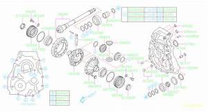 2018 Subaru Forester Engine Expansion Plug  Differential