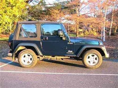 2004 Used Jeep Wrangler Sport 4x4 Car Sales Melbourne Vic